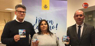 Correos presenta en Tui la nueva Tarjeta Prepago Mastercard dedicada al Camino de Santiago