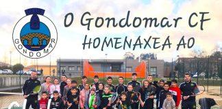 O Gondomar CF homenaxea ao Club Tenis
