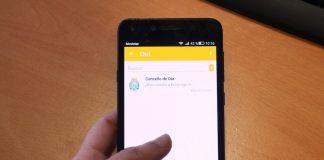 Oia comunica a súa actividade a través dun servizo de mensaxería instantánea para móbil