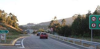 El vial de Goián-A Guarda pasa de 100 a 90 km/h