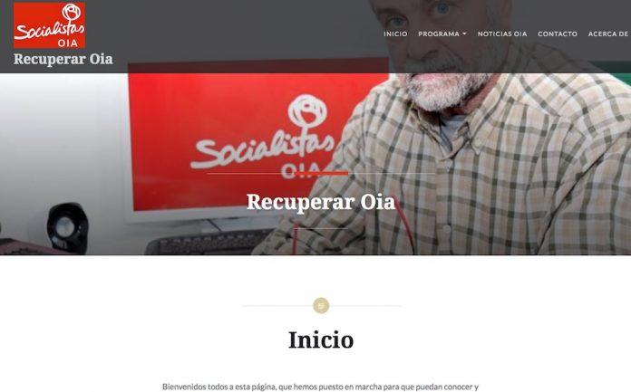 Los socialistas de Oia lanzan una nueva página web
