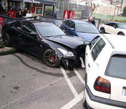 Dos accidentes dejan a una conductora herida en Baiona y a un ciclista en Gondomar
