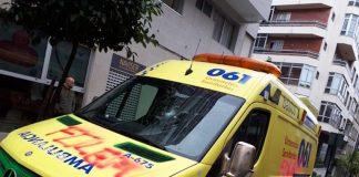 ambulancia daños baiona