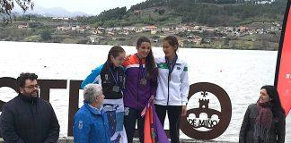 Plata y bronce para el Club Remo do Miño de Tui en el Campeonato de España de Fondo