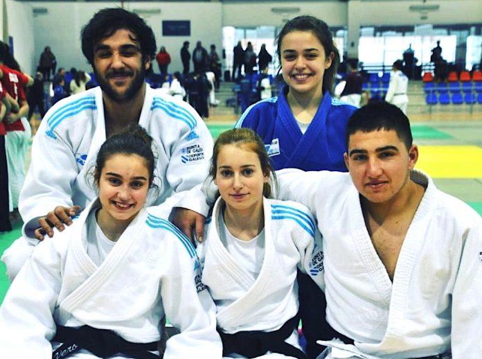 Cinco judokas del Clube de Judo Baixo Miño clasificados para el Campeonato de España júnior