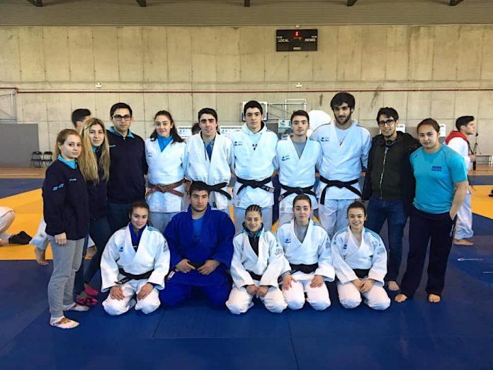 Un oro, una plata y cuatro bronces para el Clube de Judo Baixo Miño