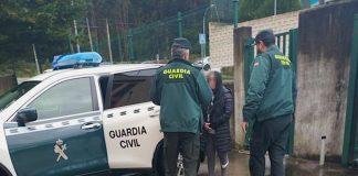 Una rumana roba a una señora de 80 años en A Guarda y la Guardia Civil la intercepta en Tomiño
