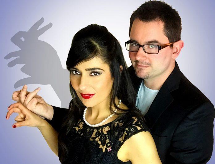 Ian Hamilton y Elisa Alfaya
