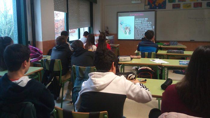 Erguete imparte no IES A Sangriña e no IES Antonio Alonso Rios programas de promoción da saúde
