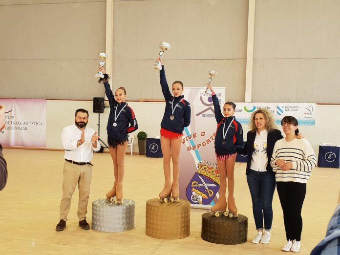 Buenos resultados para el CPA de Gondomar en el Trofeo Xunta de Galicia