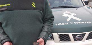 La Guardia Civil intercepta a un joven de Gondomar con 39 gramos de hachís y una navaja