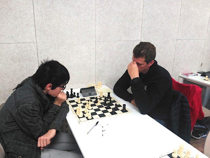 Segunda xornada da Liga Galega de Xadrez