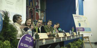 "La ""Festa da Arribada"" dice NO a la violencia de género"
