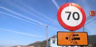 El radar fijo de Mougás estará operativo en los próximos días