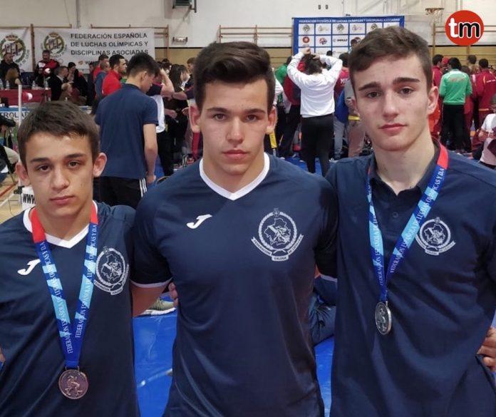 El baionés Anxo Uzal se proclama subcampeón de España de Lucha Olímpica
