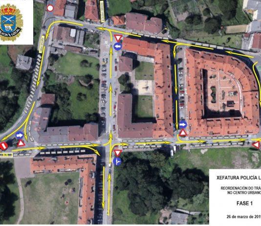 Las calles Pereiras, Emigrantes, Ánimas, Levada do Beco y Avenida do Conde serán de sentido único