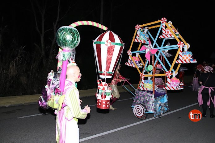 Endulzando el carnaval