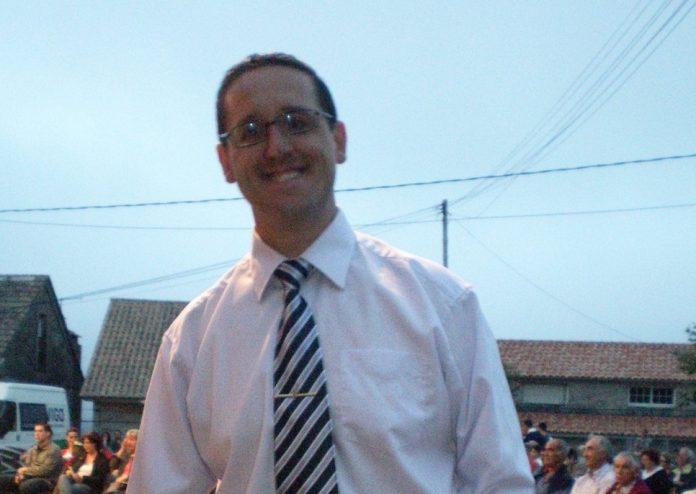 Javier Domínguez Millán, director de la Agrupación Musical de Belesar