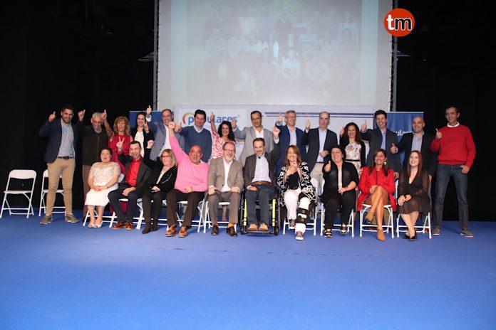 El PP de Baiona presenta la lista de concejales a las próximas elecciones