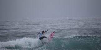 La playa de Patos acogió la I prueba del Circuito Galego Junior de Surf