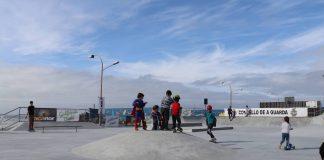 A Guarda tiene un nuevo Skate Park