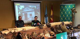 La Guardia Civil investigó más cincuenta de delitos contra el medio ambiente en Pontevedra