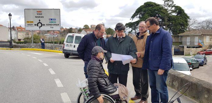 La Xunta realizará mejoras en la PO-552 en el entorno del puente de A Ramallosa