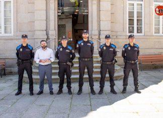 Cuatro nuevos auxiliares refuerzan la plantilla de la Policía Local de Gondomar