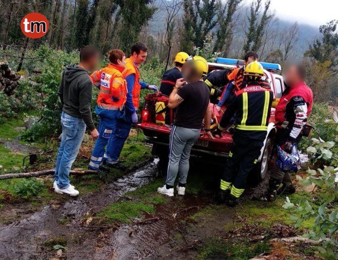 El GES rescata gracias al Whatsapp a un motorista que practicaba deporte en el Monte Galiñeiro