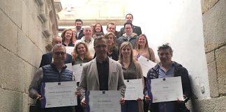 Baiona entrega los distintivos de calidad Sicted a 29 empresas y servicios del municipio