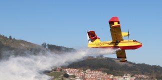 Un simulacro de colisión entre un avión y el ferry en el Río Miño moviliza a más de 100 profesionales