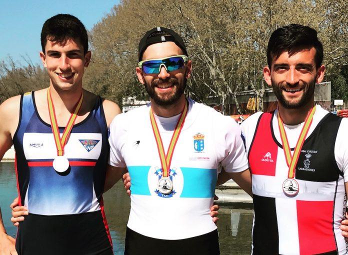 Rodrigo Conde, del Club Remo do Miño, se proclama ganador del Open Primavera de España