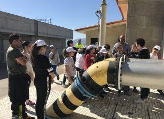 Nigrán celebra el Día Mundial del Agua con la visita de alumnos del CEIP Da Cruz a la planta potabilizadora