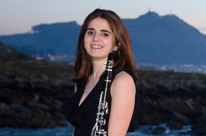 La clarinetista Cintia Lomba
