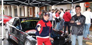 Carlos Leyenda y David Castro con su nuevo BMW 325 E36