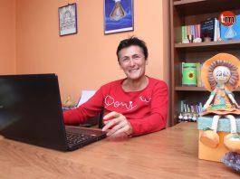 la escritora y terapeuta Gloria Pérez.