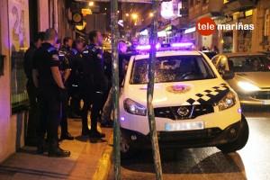 FOTO RUBENS // Así fue la detención en A Ramallosa.