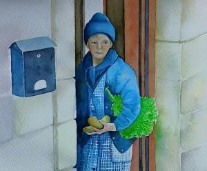 FOTO LORENA // Una de sus obras que podemos ver en la exposición